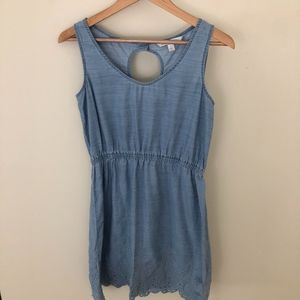 LC Lauren Conrad Chambray Dress Sz S